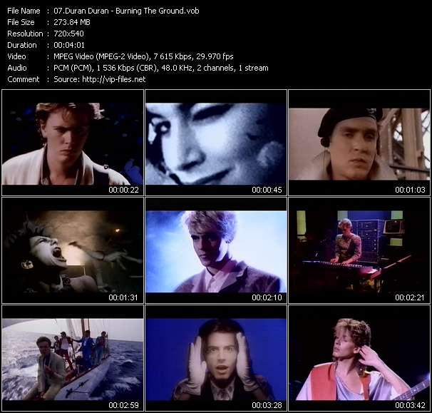 Duran Duran HQ Videoclip «Burning The Ground»