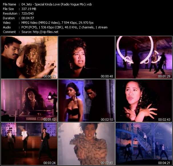 Jets video - Special Kinda Love (Radio Vogue Mix)