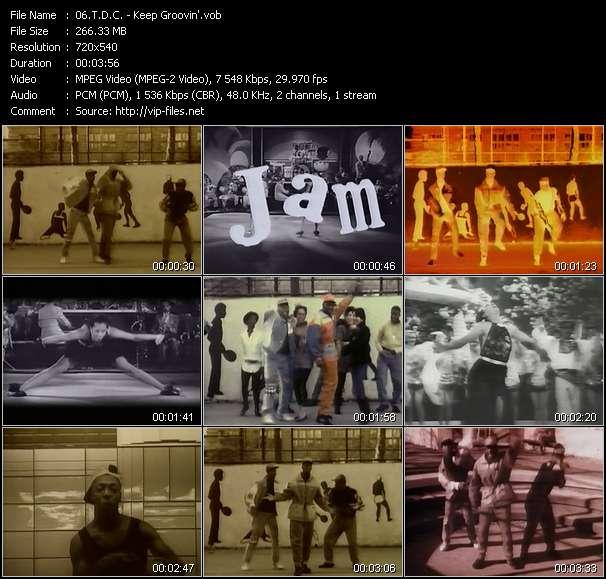 T.D.C. HQ Videoclip «Keep Groovin'»
