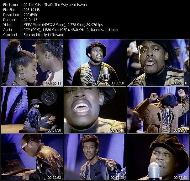 Ten City video - That's The Way Love Is