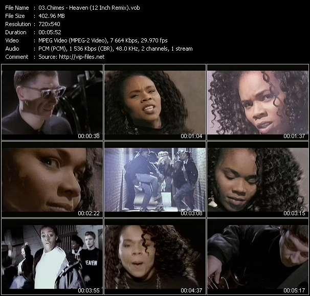 Chimes HQ Videoclip «Heaven (12 Inch Remix)»