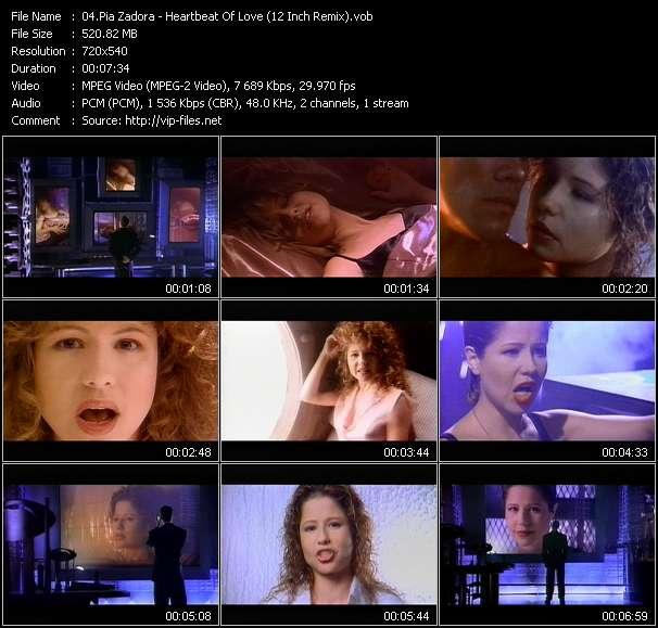 Pia Zadora HQ Videoclip «Heartbeat Of Love (12 Inch Remix)»