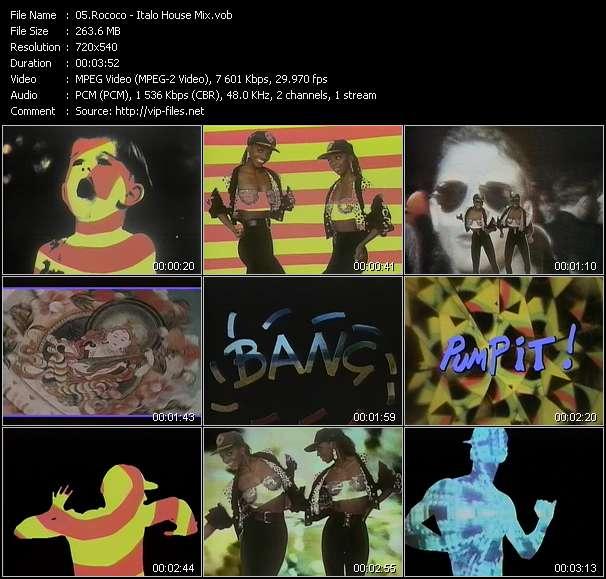 Rococo HQ Videoclip «Italo House Mix»