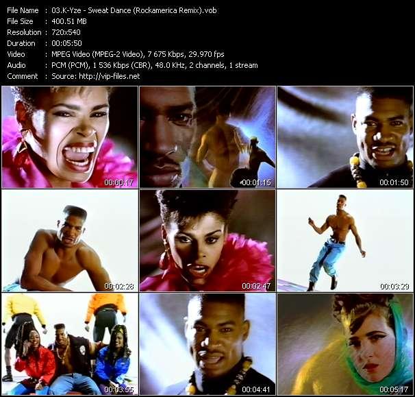 K-Yze video - Sweat Dance (Rockamerica Remix)