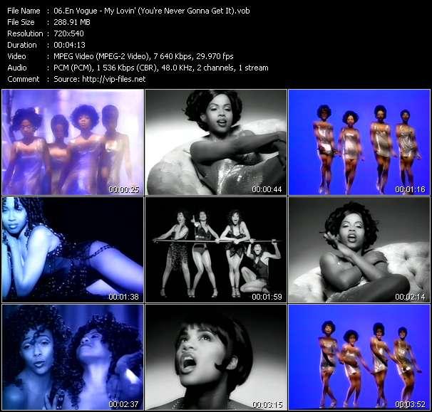 En Vogue video - My Lovin' (You're Never Gonna Get It)