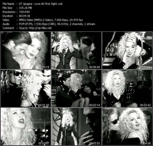 Spagna video - Love At First Sight