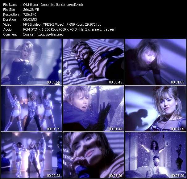 Mitsou video - Deep Kiss (Uncensored)