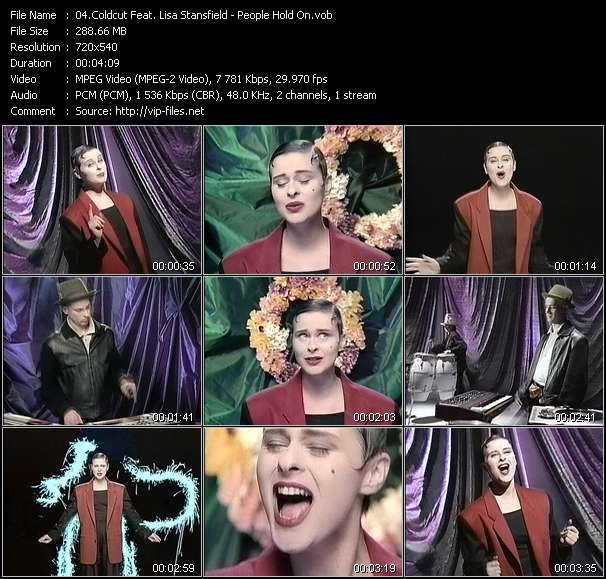 Coldcut Feat. Lisa Stansfield video - People Hold On