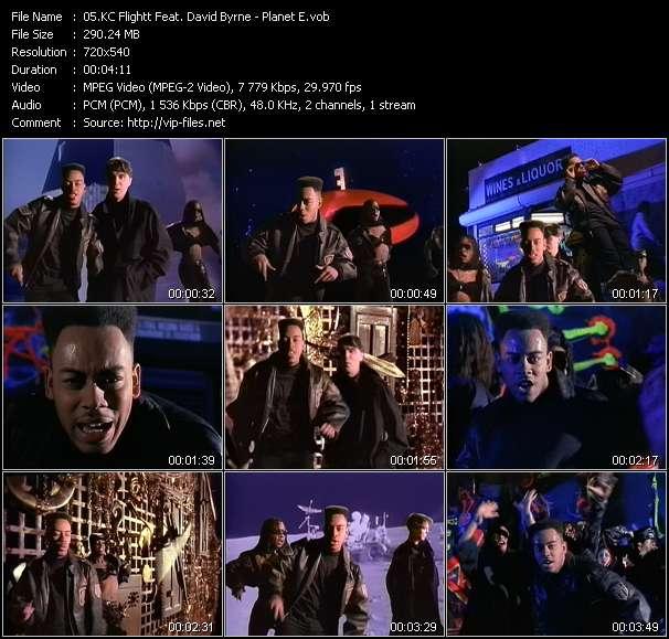 KC Flightt Feat. David Byrne video - Planet E