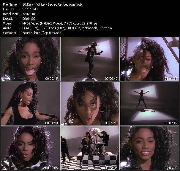 Karyn White video - Secret Rendezvous