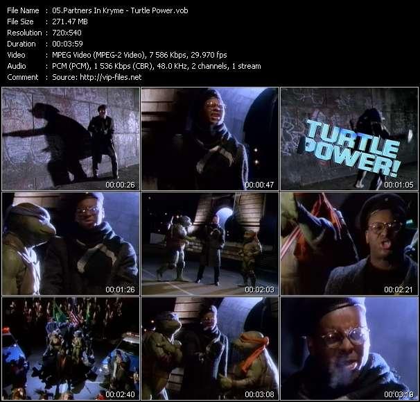 Partners In Kryme video - Turtle Power