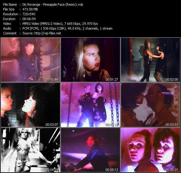 Revenge HQ Videoclip «Pineapple Face (Remix)»