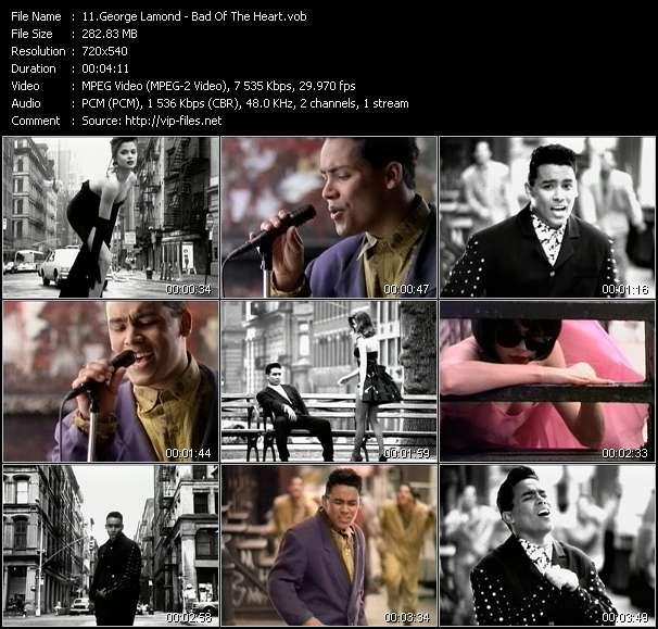 George Lamond HQ Videoclip «Bad Of The Heart»