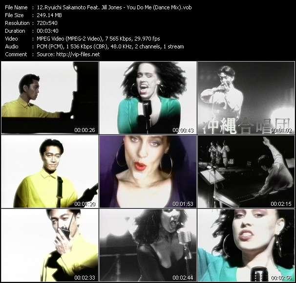 Ryuichi Sakamoto Feat. Jill Jones HQ Videoclip «You Do Me (Dance Mix)»