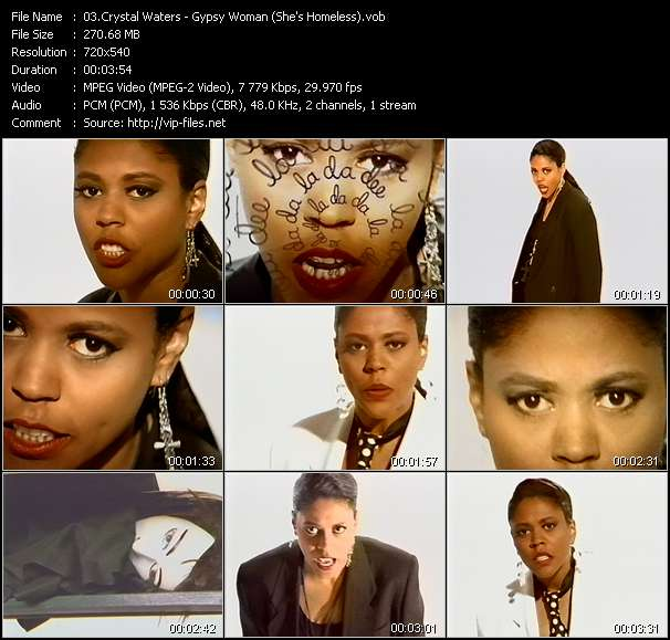 Crystal Waters HQ Videoclip «Gypsy Woman (She's Homeless)»
