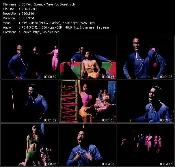 Keith Sweat HQ Videoclip «Make You Sweat»
