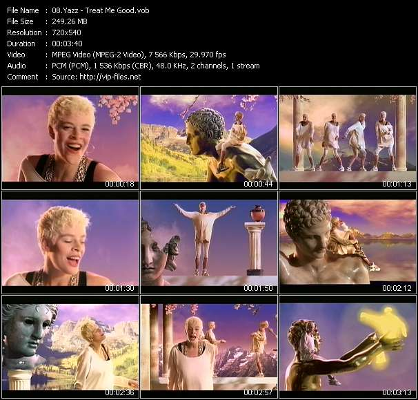 Yazz HQ Videoclip «Treat Me Good»