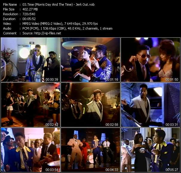 Time (Morris Day And The Time) HQ Videoclip «Jerk Out»
