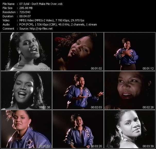 Sybil HQ Videoclip «Don't Make Me Over»