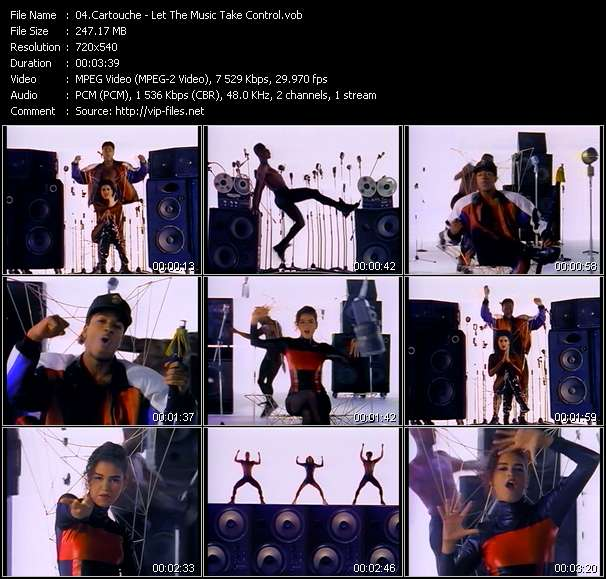Cartouche HQ Videoclip «Let The Music Take Control»