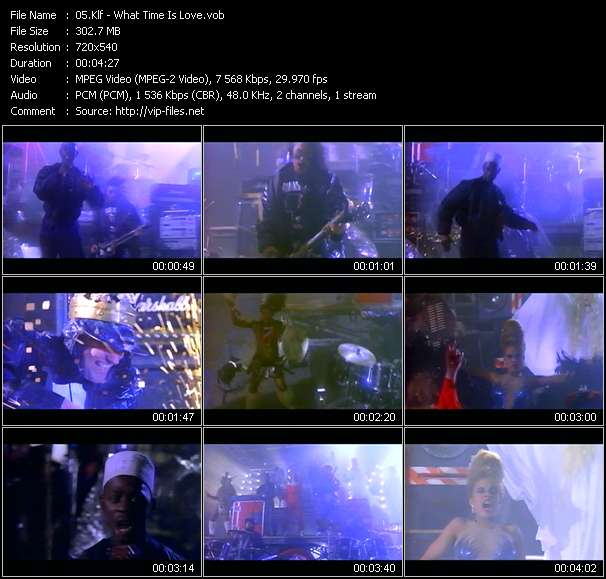 Klf HQ Videoclip «What Time Is Love?»