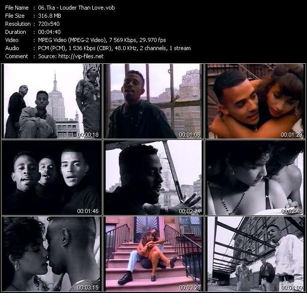 Tka HQ Videoclip «Louder Than Love»
