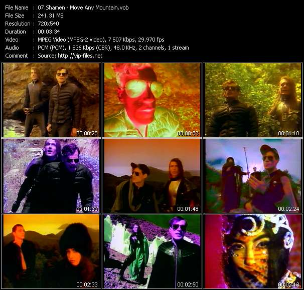 Shamen video - Move Any Mountain