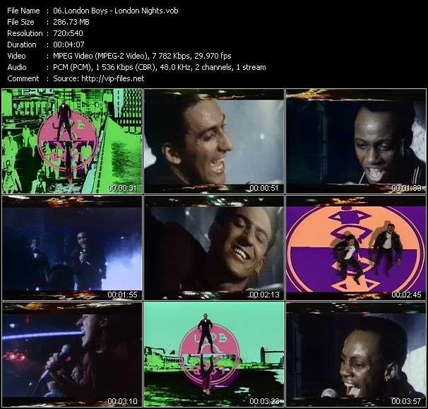 London Boys video - London Nights