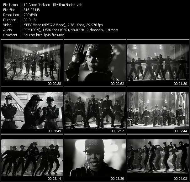 Janet Jackson video - Rhythm Nation
