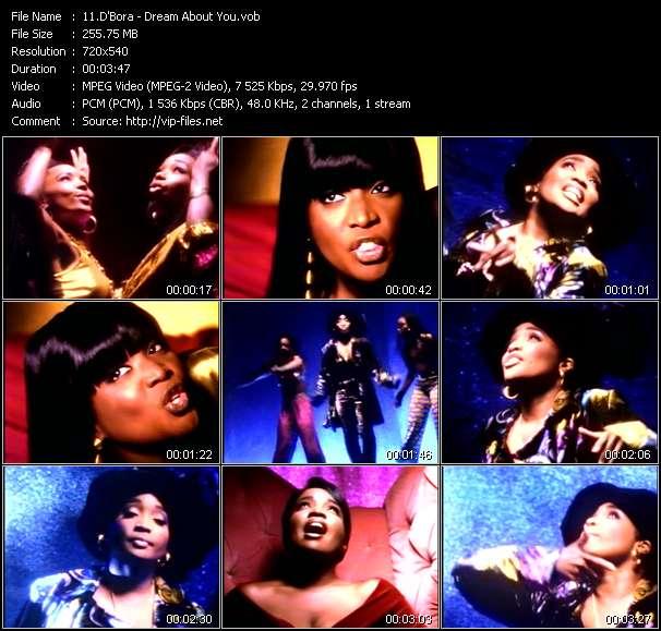 D'Bora HQ Videoclip «Dream About You»