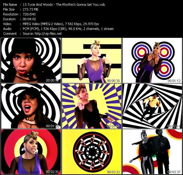 Tycie And Woody HQ Videoclip «The Rhythm's Gonna Get You»
