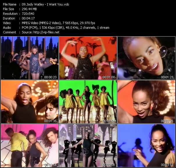 Jody Watley HQ Videoclip «I Want You»