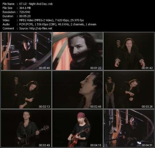 U2 video - Night And Day