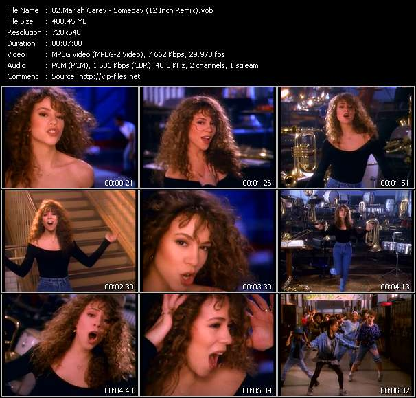 Mariah Carey HQ Videoclip «Someday (12 Inch Remix)»