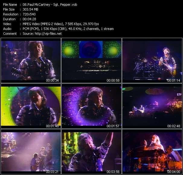 Paul McCartney HQ Videoclip «Sgt. Pepper»