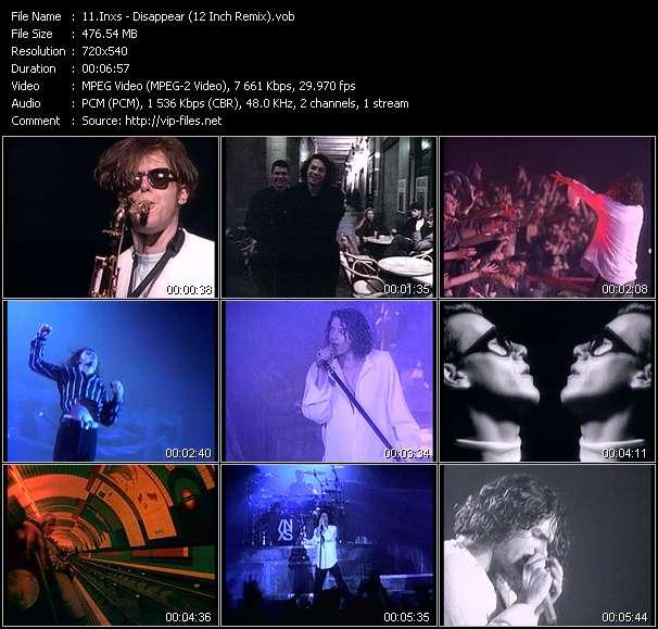 Inxs HQ Videoclip «Disappear (12 Inch Remix)»