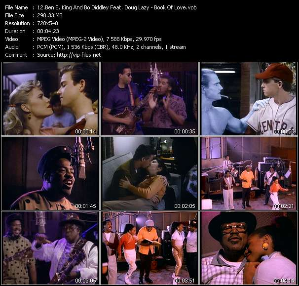 Ben E. King And Bo Diddley Feat. Doug Lazy HQ Videoclip «Book Of Love»