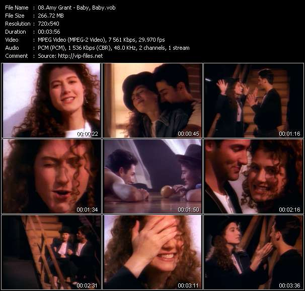 Amy Grant video - Baby, Baby