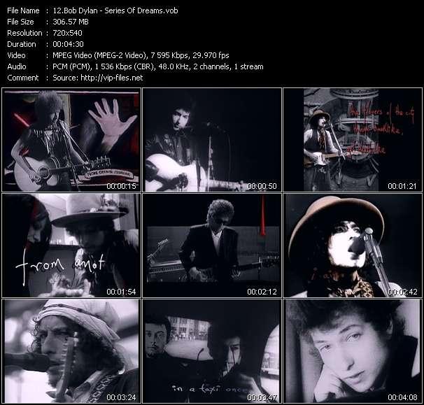 Bob Dylan video - Series Of Dreams