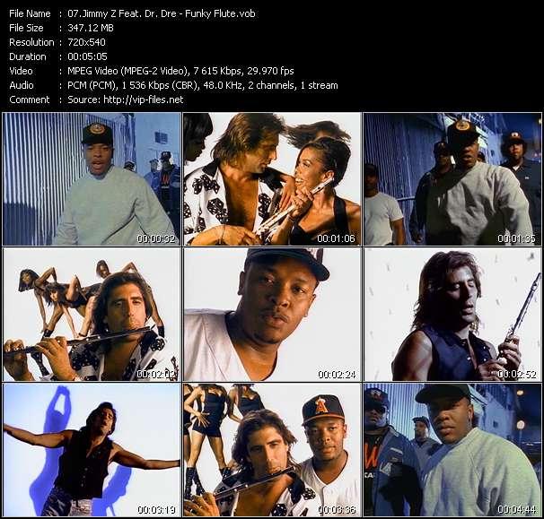 Jimmy Z Feat. Dr. Dre HQ Videoclip «Funky Flute»