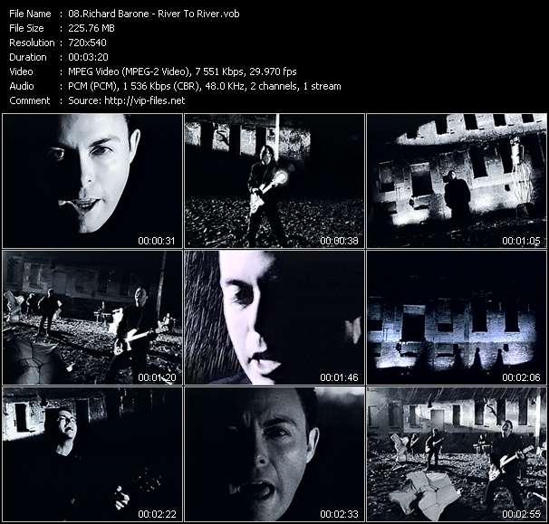 Richard Barone HQ Videoclip «River To River»