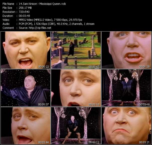 Sam Kinison video - Mississippi Queen