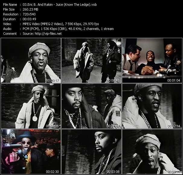 Eric B. And Rakim HQ Videoclip «Juice (Know The Ledge)»