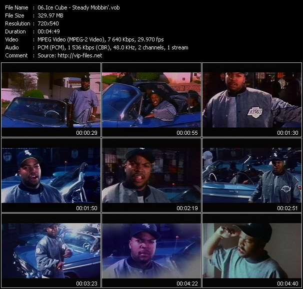 Ice Cube video - Steady Mobbin'
