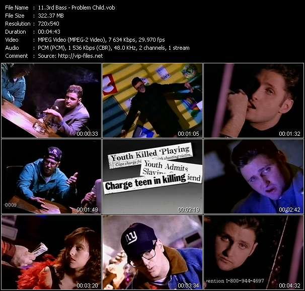 3rd Bass HQ Videoclip «Problem Child»
