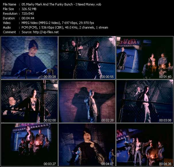 Marky Mark And The Funky Bunch HQ Videoclip «I Need Money»