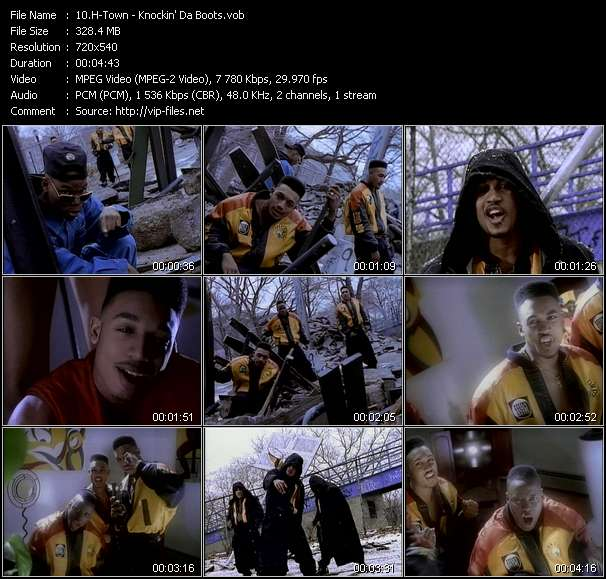 H-Town video - Knockin' Da Boots