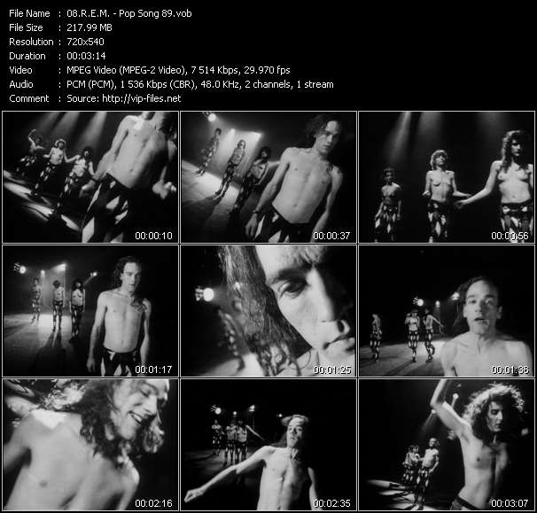 R.E.M. video - Pop Song 89
