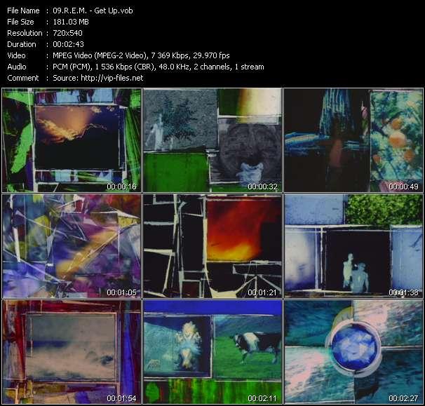 R.E.M. video - Get Up
