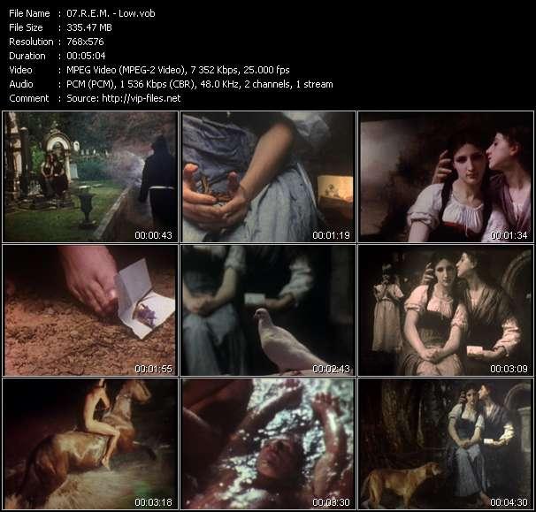 R.E.M. video - Low